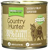 Natures Menu Country Hunter Dog Food Can Full Flavoured Rabbit Can (6 x 600g)