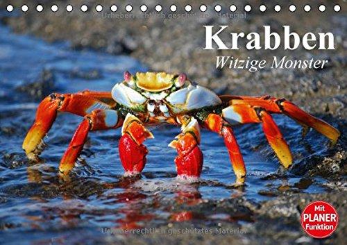 Preisvergleich Produktbild Krabben. Witzige Monster (Tischkalender 2018 DIN A5 quer): Kleine Aliens zum genaueren Betrachten (Geburtstagskalender, 14 Seiten ) (CALVENDO Tiere)