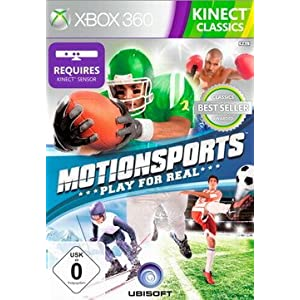 MotionSports: Play for Real (Kinect) [Software Pyramide]