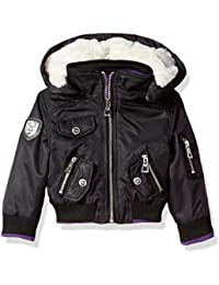 Urban Republic Baby Girls Ur Poly Twill Jacket