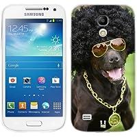 Head Case Designs Cane In Un Costume Buffo Animali Divertenti Cover Morbida In Gel Per Samsung Galaxy S4 mini I9190