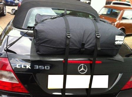 Mercedes Benz CLK convertibile Portapacchi Rastrelliera: boot-bag