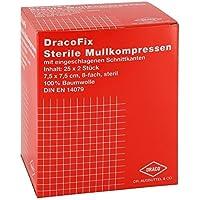 DRACOFIX PEEL Kompressen 7,5x7,5 cm steril 8fach 25X2 St preisvergleich bei billige-tabletten.eu
