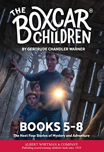 The Boxcar Children Mysteries Boxed Set #5-8 (English Edition)