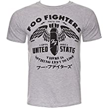 Foo Fighters Herren T-Shirt - There Is Nothing Left To Lose Grau
