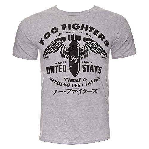 T Shirt Dei Foo Fighters Nothing To Lose (Grigio) - Small