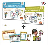 Mes Cartes Mentales DUO Maths + Français cycle 3 - CM1, CM2, 6e