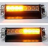 Universal Bernstein LED Notfall Blinklicht Warnlicht 12v - ideal für Auto Lastwagen Lieferwagen