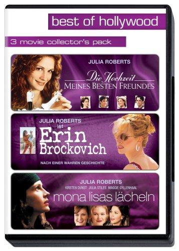 Best of Hollywood - 3 Movie Collector's Pack: Die Hochzeit meines besten Freundes / Erin Brockovich / Mona Lisas Lächeln [3 DVD