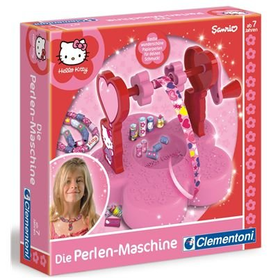 Clementoni 69880 - Helly Kitty - Die Perlenmaschine