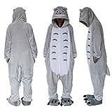 Extérieur en polaire Dessus Totoro Combinaison Unisexe Cosplay Costume à...