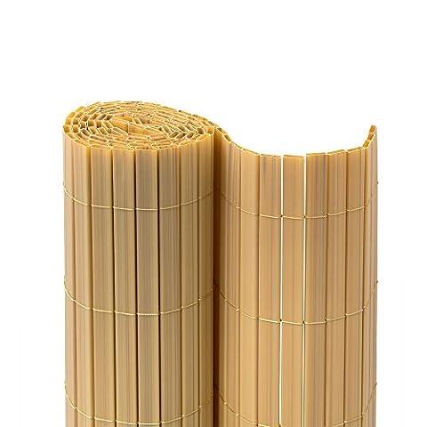 Canisse Bambou 3x1 5m - JAROLIFT Premium Canisse en PVC | Brise