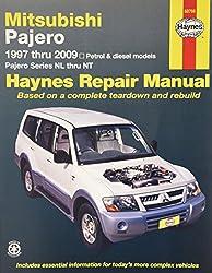Mitsubishi Pajero Automotive Repair Manual: 97-09