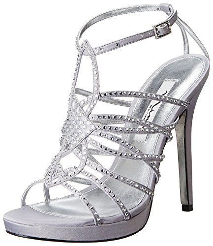 Nina Foxy Synthétique Sandales Royal Silver