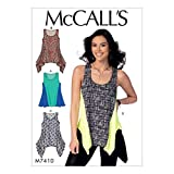 MCCALL `s Patterns 7410 E5 Camisetas