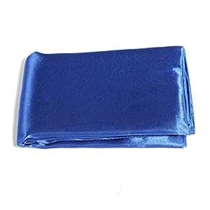 Nappe de Table-Bleu Roi-housse Satin Pour Mariage Décor Décoration de Fête - 145 x 145 cm