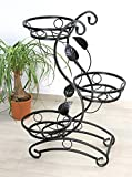 DanDiBo Escalier à fleurs KW019 Support de fleurs Colonne à fleurs 87 cm Colonne à plantes Porte-plantes...