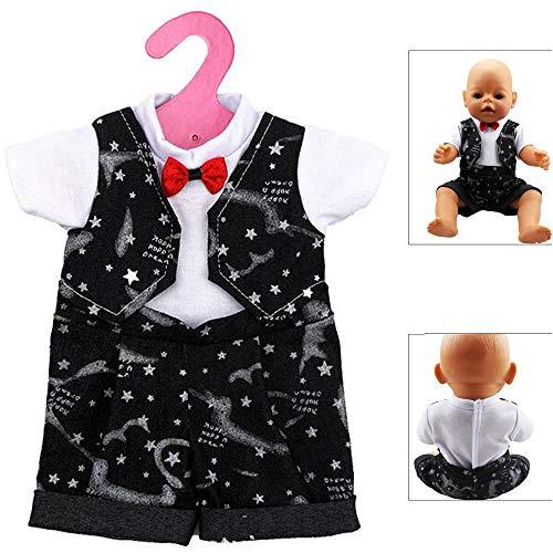 its Puppenkleidung Kostüm Kleider für 17-18