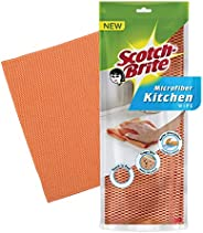 Scotch-Brite Microfiber Kitchen Wipe (Orange)