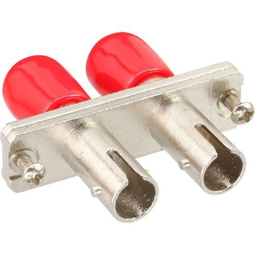 InLine 89990C LWL Kupplung (Duplex ST Stecker auf ST Stecker)