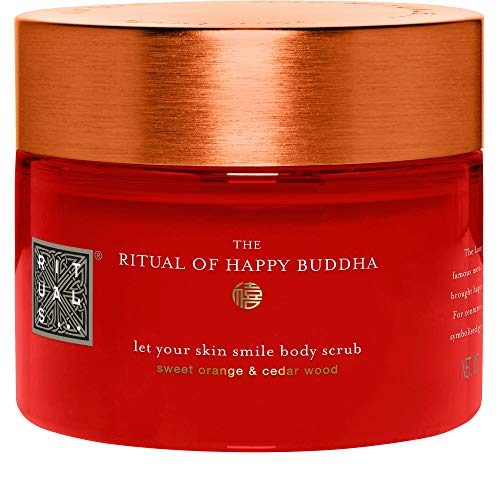 Rituals, The Ritual of Happy Buddha Körperpeeling 375 gr - Massage Öl Sweet