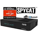 SPYCAT Linux E2  HDTV Sat-Receiver (IP, USB, Wifi, E-SATA Plug/Play Tuner, Blindscan, Bluetooth)