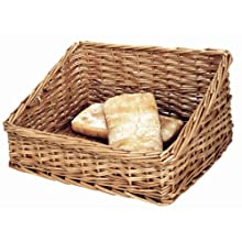 Panier à pain 170 x 360 x 300 mm en osier naturel