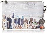 YNOT Piatta Catenella, Borsetta da Polso Donna, 27.5x18x1 cm (W x H x L) immagine