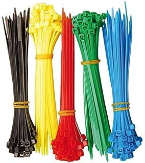 1000 Stück 2,5x100mm KABELBINDER SET 10 Farben bunt Industriequalität Cable Ties