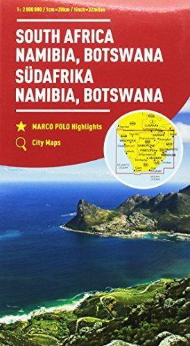 Sudafrica, Namibia, Botswana 1:2.000.000 (Carte stradali Marco Polo)