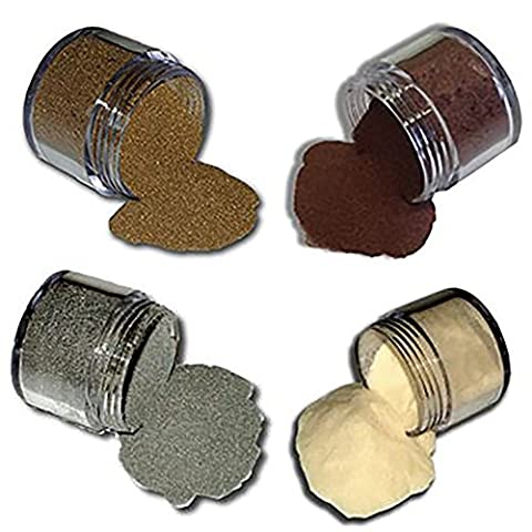 Embossing Powder - Set of 4 great colours [SET
