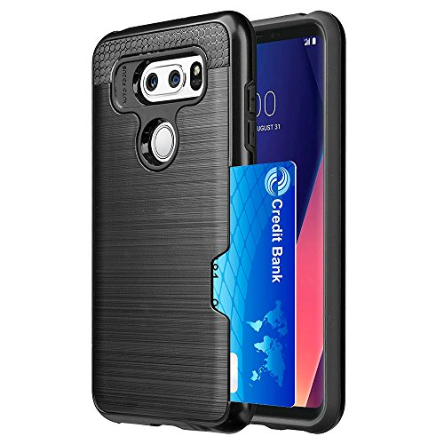 Basic-handy Verizon (SumacLife Schutzhülle Schutz, perfekt Handy Fall für LG V30–Classic schwarz)