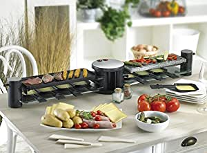 Noon family raclette 8 personnes 1200 w - La table a raclette ...