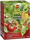 COMPO Tomaten Langzeit-Dünger für alle Arten von Tomaten, 6 Monate Langzeitwirkung, 2 kg, 14m²