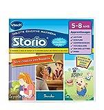 VTech 233705 - Storio 2 et générations suivantes - Jeu Educatif - Storio Contes Traditionnels (Pinocchio + 3 Petits Cochons + La Princesse Et La Grenouille)