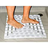 Duscheinsatz-RutschfestDuschmatte Badezimmerzubehör Duschzubehör Antirutschmatte Fußmatte Dusche Badewanne Bad Accessoires