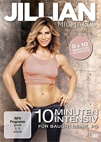 Jillian Michaels - 10 Minuten Intensiv für Bauch, Beine, Po -
