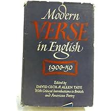 Modern Verse in English