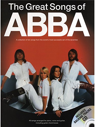 The Great Songs Of Abba (Book/CD). Für Klavier, Gesang & Gitarre