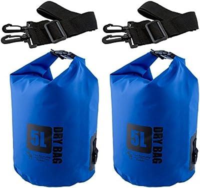 The Friendly Swede Pack de 2 Bolsas Estancas Premium Para Actividades al Aire Libre y Deportes Acuáticos