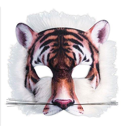 Realistische Tiger Kostüm - Realistisch Gesicht-maske Buchwoche Tier Zoo Dschungel Wald Creature Karneval Gesichtsmaske für Erwachsene und Kinder - Tiger