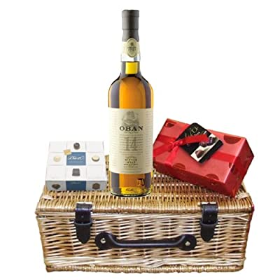 Oban 14 Year Old Whisky and Chocolates Hamper