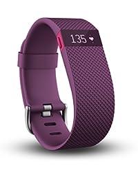 Fitbit Charge HR - rastreadores de actividad (Wristband, Púrpura, Púrpura, 30 Días, Cualquier marca, OLED)