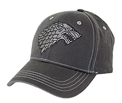 Game of Thrones Stark Washed Baseball Hat