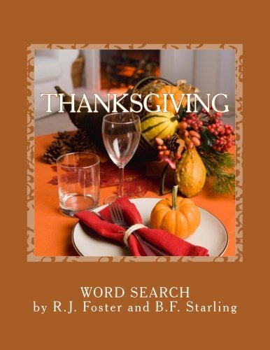 Thanksgiving: Word Search by R.J. Foster (2015-11-20)