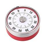 Fanbufan Küchentimer, mechanisch, Edelstahl, magnetisch 3.14inx1.18in A