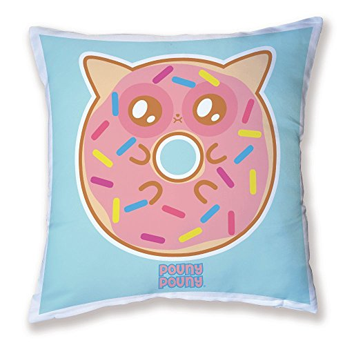 Coussin Pouny Pouny Big Donut yummy, kawaii et chibi - Fabriqué en France - Chamalow Shop