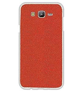 PrintVisa Designer Back Case Cover for Samsung Galaxy On5 Pro (2015) :: Samsung Galaxy On 5 Pro (2015) (Orange Colour Pattern )