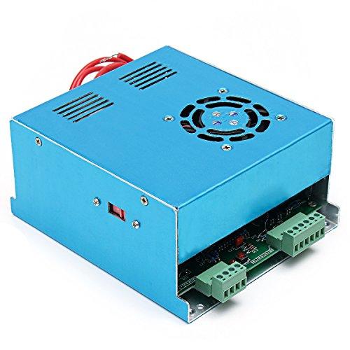 Lovinn MYJG-50 - Fuente de alimentación láser para máquina de corte de grabado láser CO2 (110 V/220 V, 50 W) 220v