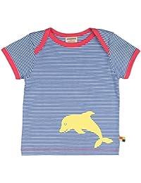 loud + proud Baby-Mädchen T-Shirt, Ringel